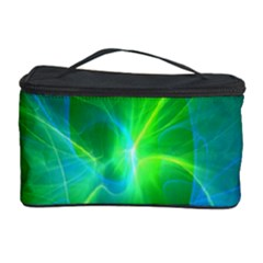 Line Green Light Cosmetic Storage Case by Jojostore