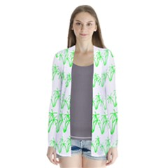 Palm Tree Coconute Green Sea Cardigans