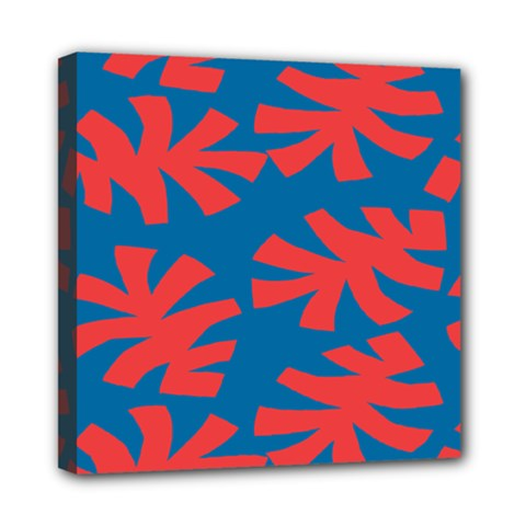 Simple Tropical Original Mini Canvas 8  X 8  by Jojostore