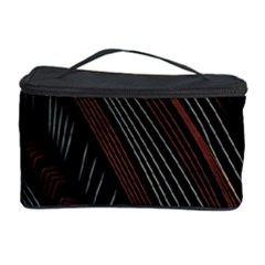 Trailer Drax Line Brown White Chevron Galaxy Space Cosmetic Storage Case