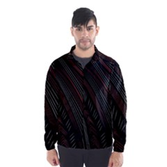 Trailer Drax Line Brown White Chevron Galaxy Space Wind Breaker (men)