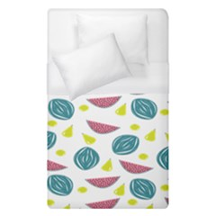 Summer Fruit Watermelon Water Guava Onions Duvet Cover (single Size) by Jojostore