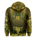Tree with Green & Yellow Leaves Men s Zipper Hoodie View2