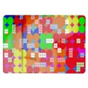 Abstract Polka Dot Pattern Samsung Galaxy Tab 10.1  P7500 Flip Case View1