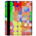 Abstract Polka Dot Pattern Samsung Galaxy Tab 10.1  P7500 Flip Case View2