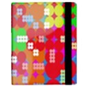 Abstract Polka Dot Pattern Samsung Galaxy Tab 10.1  P7500 Flip Case View3