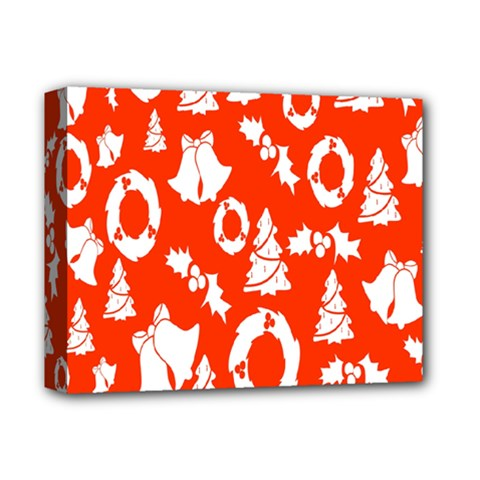 Backdrop Background Card Christmas Deluxe Canvas 14  X 11