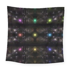 Abstract Sphere Box Space Hyper Square Tapestry (large)