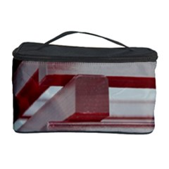 Red Sunglasses Art Abstract Cosmetic Storage Case