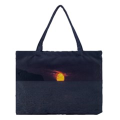 Sunset Ocean Azores Portugal Sol Medium Tote Bag by Nexatart