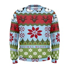 Ugly Christmas Xmas Men s Sweatshirt by Nexatart