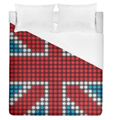 The Flag Of The Kingdom Of Great Britain Duvet Cover (queen Size)
