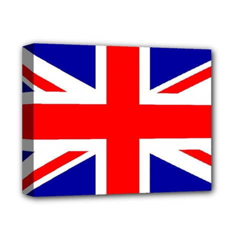 Union Jack Flag Deluxe Canvas 14  X 11  by Nexatart