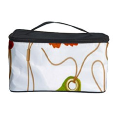 Vector Beautiful Maple Leaf Cosmetic Storage Case by Nexatart