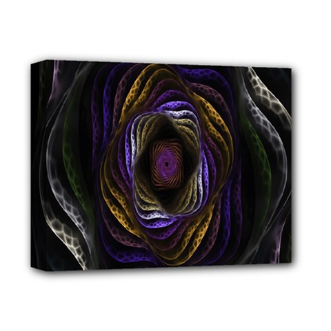 Abstract Fractal Art Deluxe Canvas 14  X 11  by Nexatart