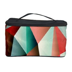 Abstracts Colour Cosmetic Storage Case by Nexatart