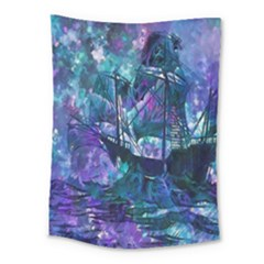 Abstract Ship Water Scape Ocean Medium Tapestry