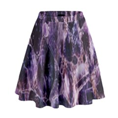 Agate Naturalpurple Stone High Waist Skirt