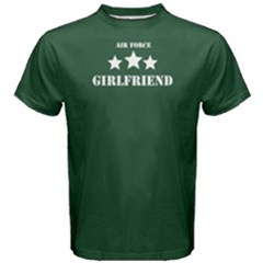 Green Air Force Girlfriend Men s Cotton Tee by FunnySaying