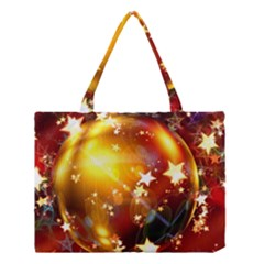 Advent Star Christmas Medium Tote Bag by Nexatart