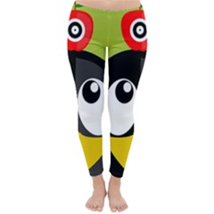 Animals Penguin Classic Winter Leggings