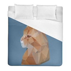 Animals Face Cat Duvet Cover (full/ Double Size) by Alisyart