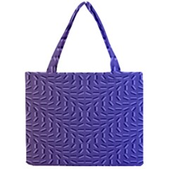 Calm Wave Blue Flag Mini Tote Bag