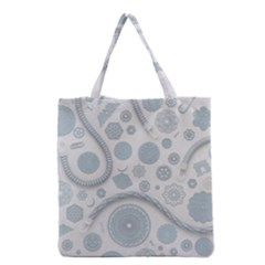 Eguipment Grey Grocery Tote Bag by Alisyart