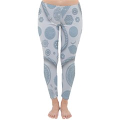Eguipment Grey Classic Winter Leggings