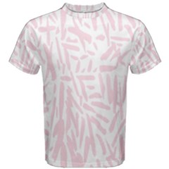 Graffiti Paint Pink Men s Cotton Tee