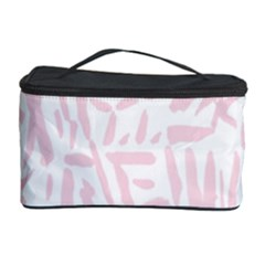Graffiti Paint Pink Cosmetic Storage Case by Alisyart