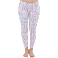 Graffiti Paint Pink Classic Winter Leggings