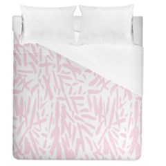 Graffiti Paint Pink Duvet Cover (queen Size)