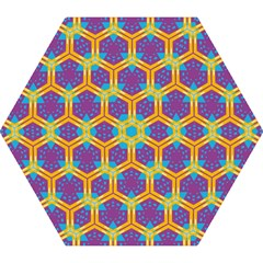 Yellow Honeycombs Pattern                                                          Umbrella by LalyLauraFLM