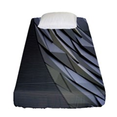 Architecture Fitted Sheet (single Size) by Nexatart
