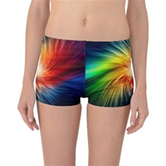 Lamp Light Galaxy Space Color Reversible Bikini Bottoms