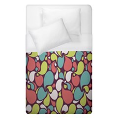 Leaf Camo Color Flower Duvet Cover (single Size) by Alisyart