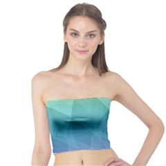 Lotus Events Green Blue Purple Tube Top