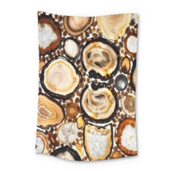Natural Agate Mosaic Small Tapestry