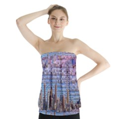 Auckland Travel Strapless Top by Nexatart
