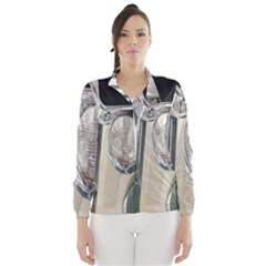 Auto Automotive Classic Spotlight Wind Breaker (women) by Nexatart