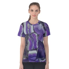 Purple Agate Natural Women s Cotton Tee