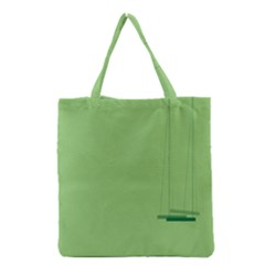 Swing Children Green Kids Grocery Tote Bag by Alisyart
