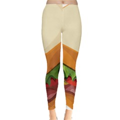 Sandwich Breat Chees Leggings