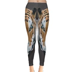 Tiger Face Animals Wild Classic Winter Leggings