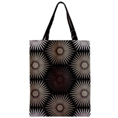 Sunflower Black White Classic Tote Bag