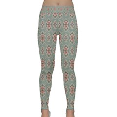 Vintage Floral Tumblr Quotes Classic Yoga Leggings by Alisyart