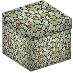 Leaf Camo Color Flower Floral Storage Stool 12   by Alisyart
