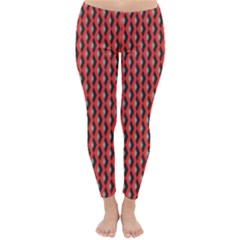 Hexagon Based Geometric Classic Winter Leggings