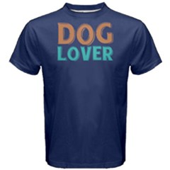 Dog Lover - Men s Cotton Tee by FunnySaying